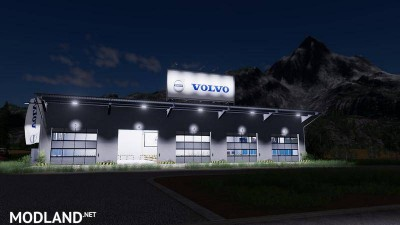 Placeable Volvo hall v 1.0, 6 photo