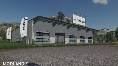 Placeable Volvo hall v 1.0, 1 photo