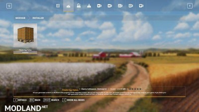 Purchasable Egg Pallet v 1.0.4, 1 photo