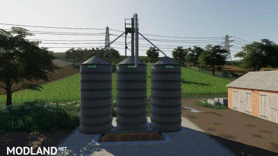 Silos Michal Placeable v 1.0