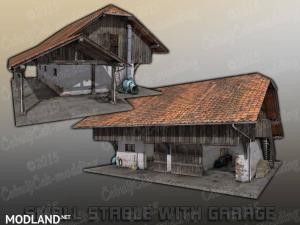 Old EU barn placeable, 1 photo