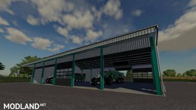 Steel Construction Hall v 1.0