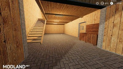Wooden horse stable with dung v 1.0, 2 photo