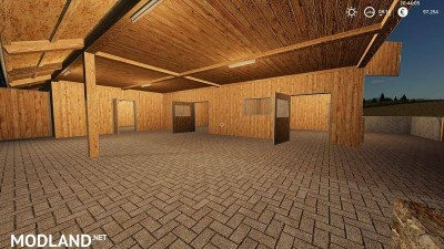 Wooden horse stable with dung v 1.0, 3 photo
