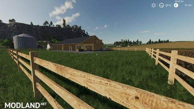 Wooden horse stable with dung v 1.0, 4 photo