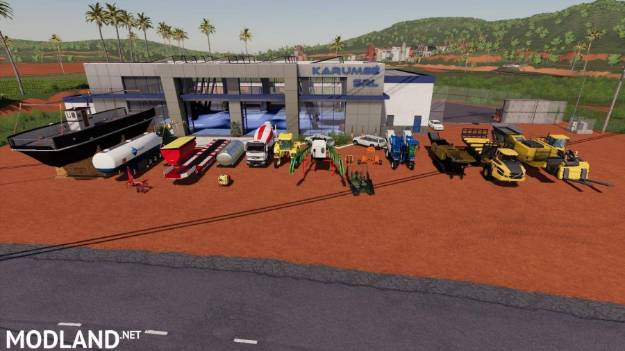 FS19 MCE MACHINERY PACK