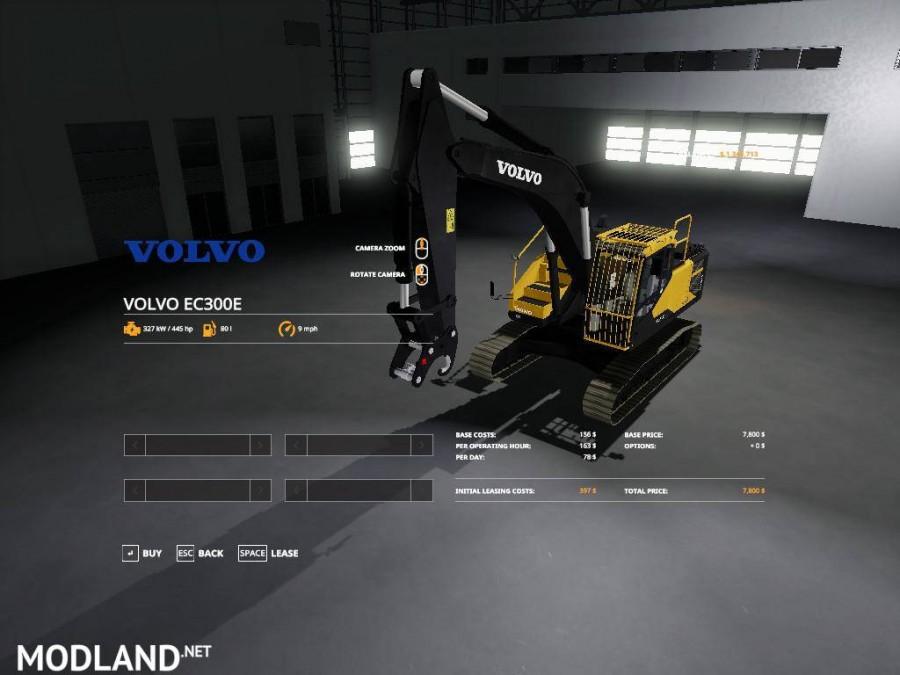 Volvo excavator pack