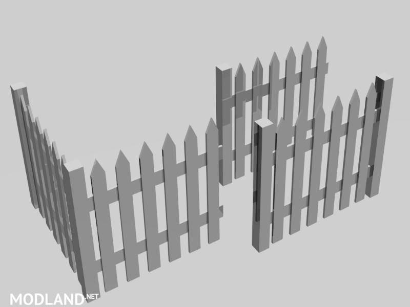 White fence pack