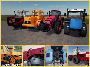 Paсk powerful tractors v 1.0, 1 photo