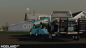 48 Chevy ramp truck and 71 Chevy C10, 4 photo