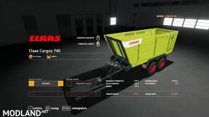 Claas Cargos 700 Pack v 1.0, 2 photo