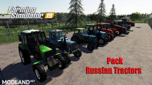 Pack Russian Tractors, 1 photo