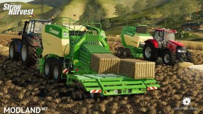 Addon Straw Harvest v 1.0, 2 photo