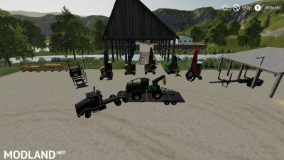 Complete FDR Logging Equipment Pack v 4.0.2 - External Download image