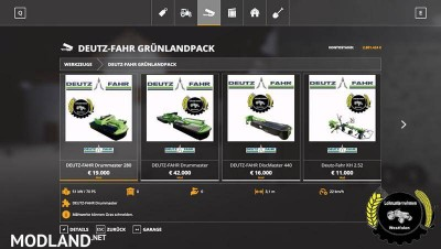 DEUTZ-FAHR Grassland Pack v 1.0, 4 photo