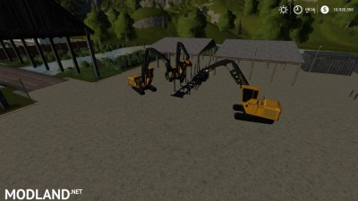FDR Logging Mod Pack Current Machines v 1.0, 2 photo