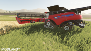 New Holland combine and header pack, 1 photo