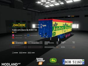 FS 19 Pack Trailer John Deere By BOB51160 V 1.0, 4 photo