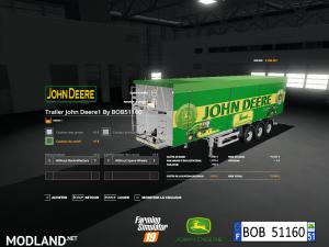 FS 19 Pack Trailer John Deere By BOB51160 V 1.0, 7 photo