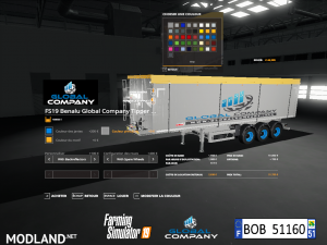 FS 19 Pack Trailers Global Company By BOB51160, 2 photo