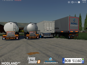 FS 19 Pack Trailers Global Company By BOB51160, 10 photo