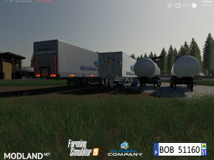 FS 19 Pack Trailers Global Company By BOB51160, 12 photo
