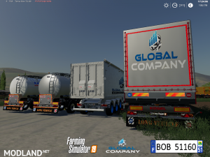 FS 19 Pack Trailers Global Company By BOB51160, 11 photo