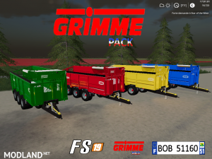 FS19 Grimme Pack by BOB51160