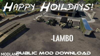 Hoildays mod release Vehicles v 1.0