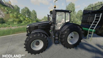 John Deere 6R + 643R Green + Black Pack v 1.0, 2 photo