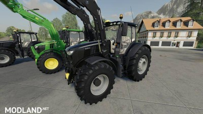 John Deere 6R + 643R Green + Black Pack v 1.0, 3 photo