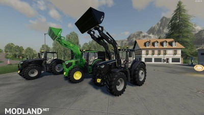 John Deere 6R + 643R Green + Black Pack v 1.0, 1 photo