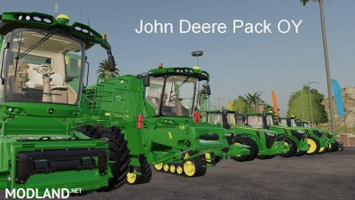 John Deere Pack OY MP v 19.5 - Direct Download image