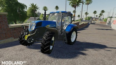 New Holland T Series Pack v 1.0