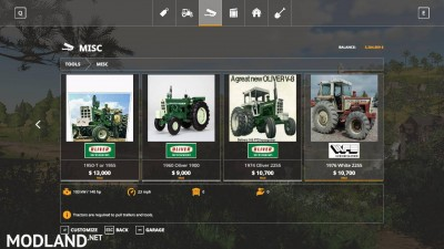 Oliver tractor pack beta, 10 photo