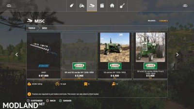 Oliver tractor pack beta, 3 photo