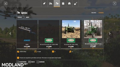 Oliver tractor pack beta, 5 photo