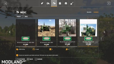 Oliver tractor pack beta, 6 photo
