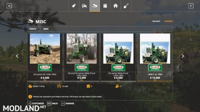 Oliver tractor pack beta, 7 photo