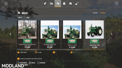 Oliver tractor pack beta, 8 photo