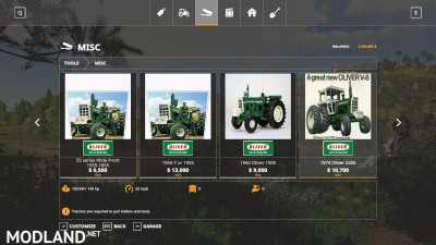 Oliver tractor pack beta, 9 photo