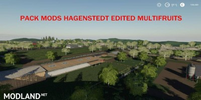 Pack Mods Hagenstedt Edited MultiFruit v 1.0 - Direct Download image