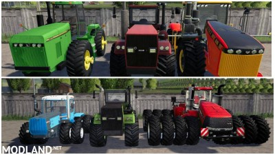Pack POWERFUL TRACTORS v2.0 - External Download image