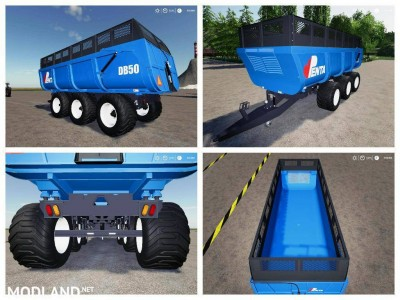 Pack trailers for tractor v 1.0, 4 photo