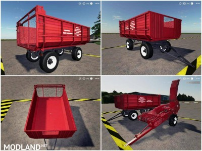 Pack trailers for tractor v 1.0, 6 photo