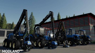 Real Forestry MACHINERY Pack v 0.2