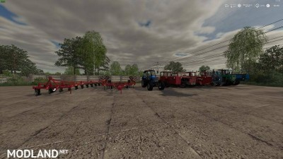 Russian Pack Tractors + Implements & Tools v 1.0, 2 photo