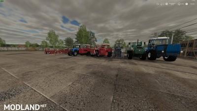 Russian Pack Tractors + Implements & Tools v 1.0, 1 photo