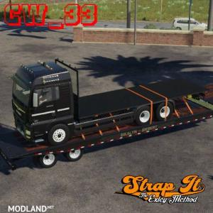 Man truck Pack w/ StrapIt byCW 33, 4 photo