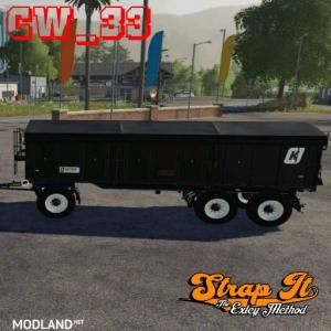 Man truck Pack w/ StrapIt byCW 33, 2 photo